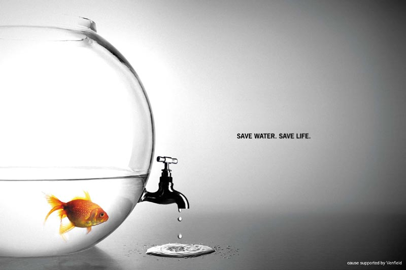 save water save life example