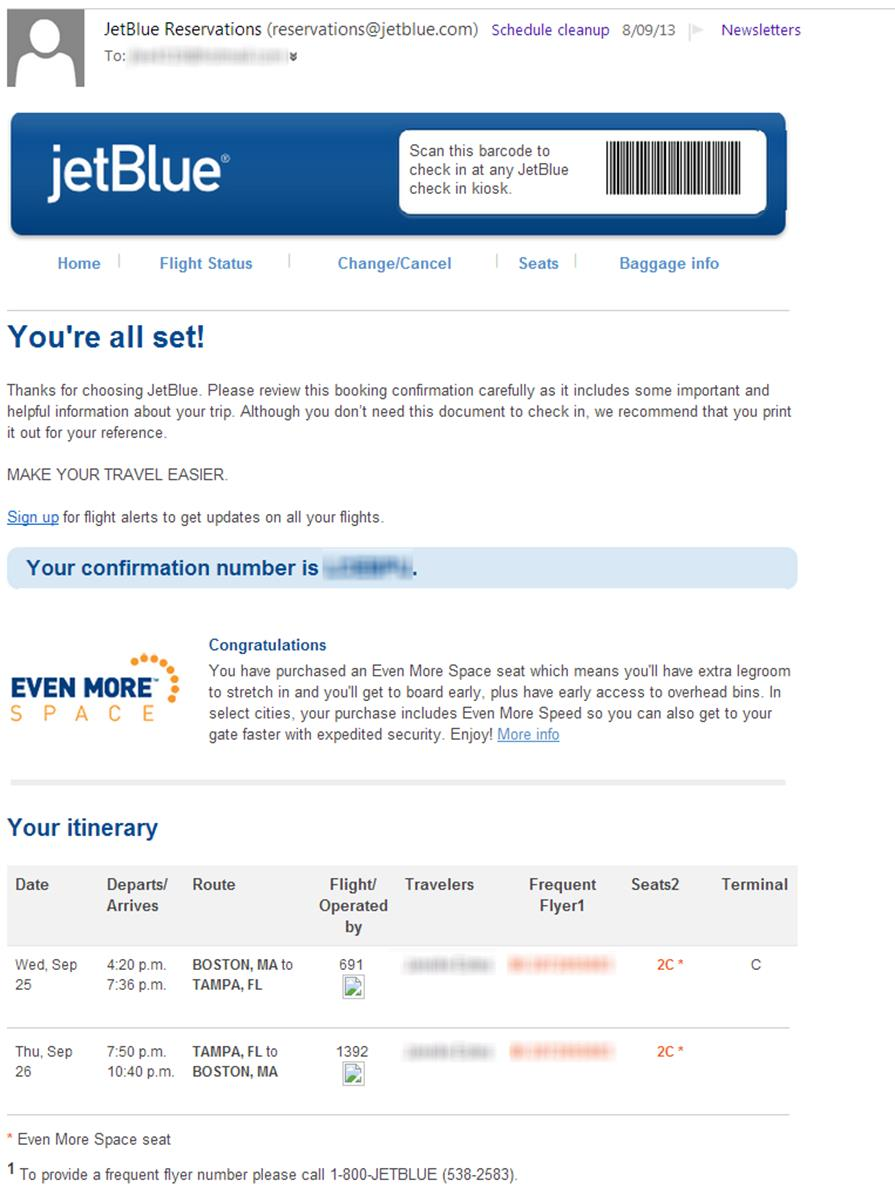 jetblue email