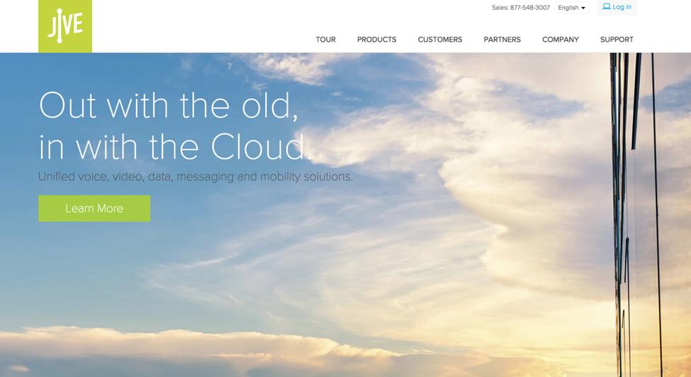 Jive cloud