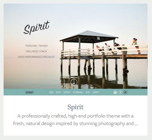 Upfront theme, Spirit