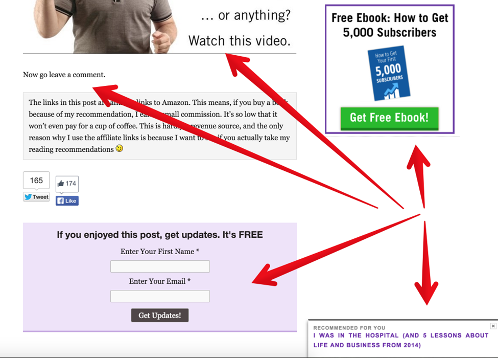 examples of blog CTAs