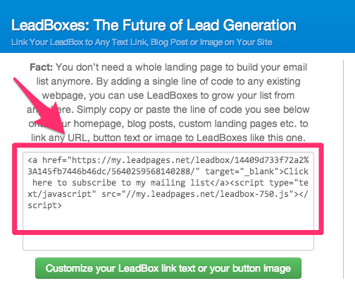 leadboxes link