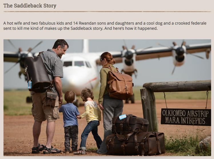 Saddleback Leather storytelling