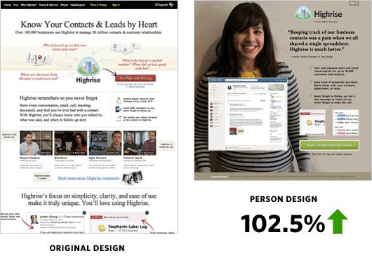 original design vs person design