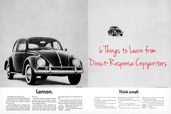 5 Things to Learn from Direct-Response Copywriters