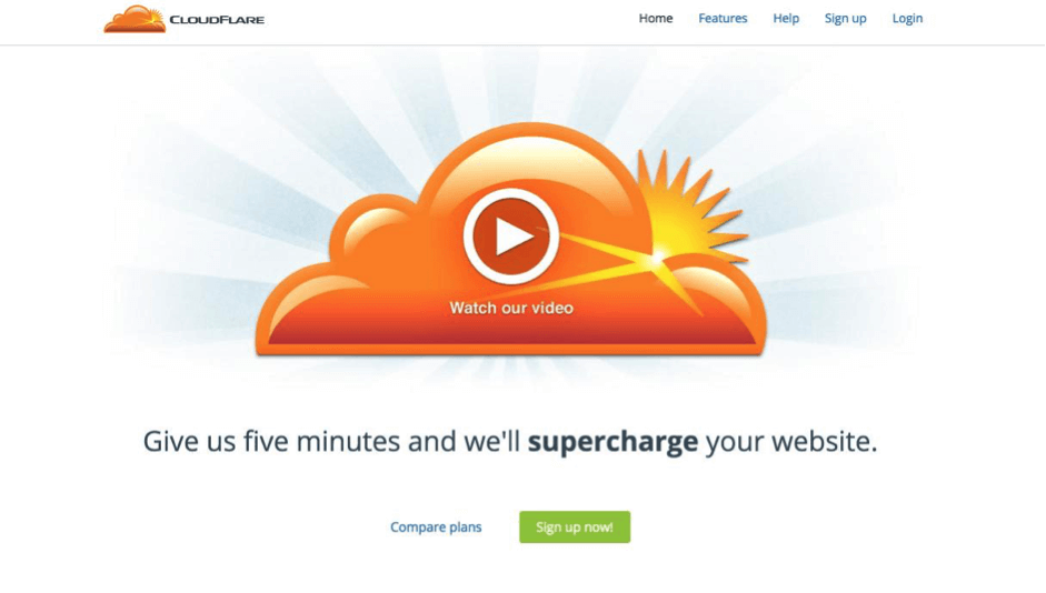cloudflare-home-page