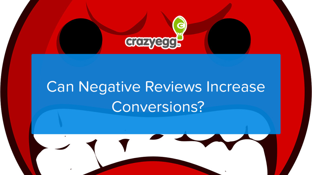 can negative reviews increase conversions?