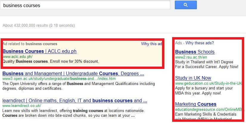 Business Courses Google