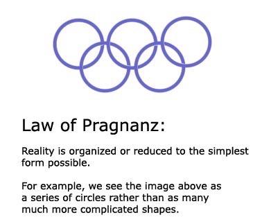 Law of Pragnanz explanation