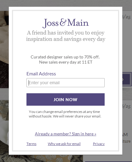 21 call to action examples and 3 rules for effective ctas for Joss and main contact