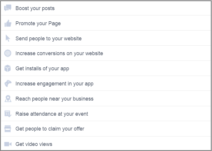 boost your post promote your page