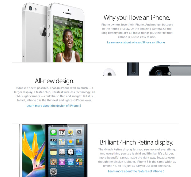 iPhone features