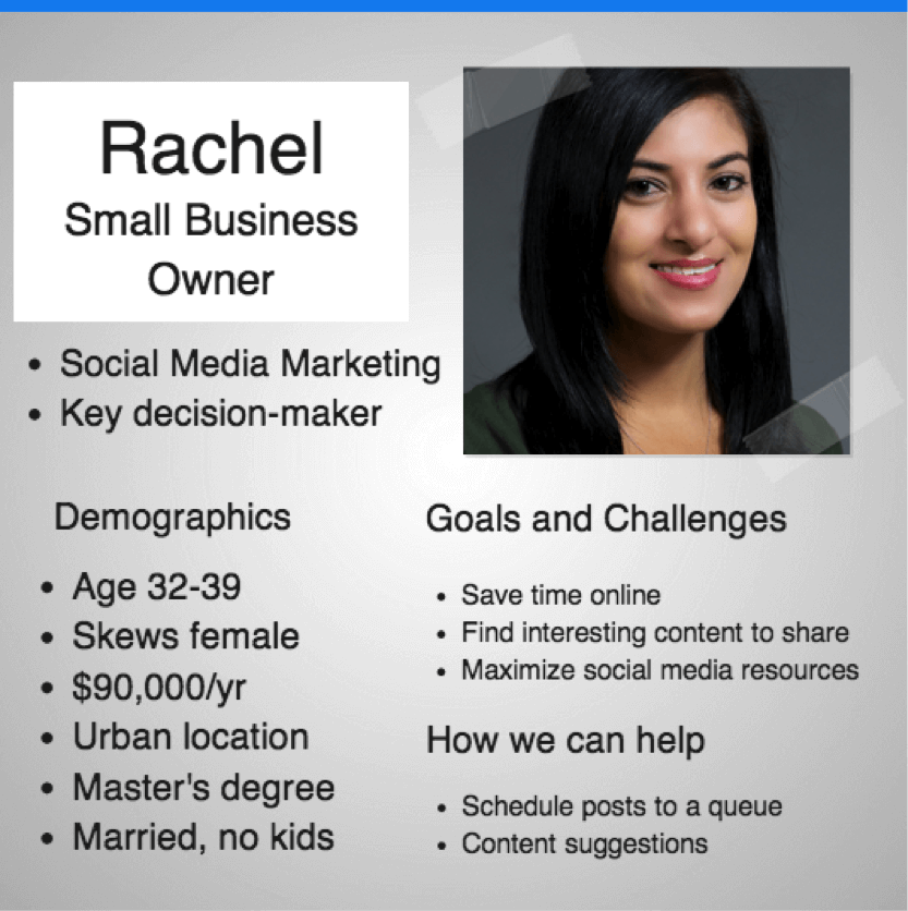 small business owner persona
