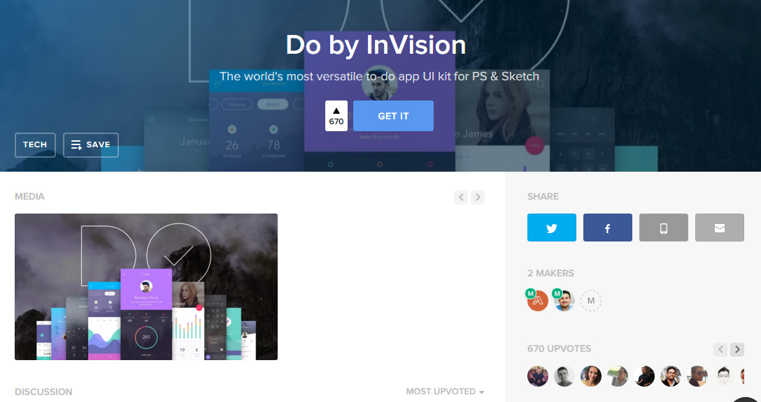 product hunt invision