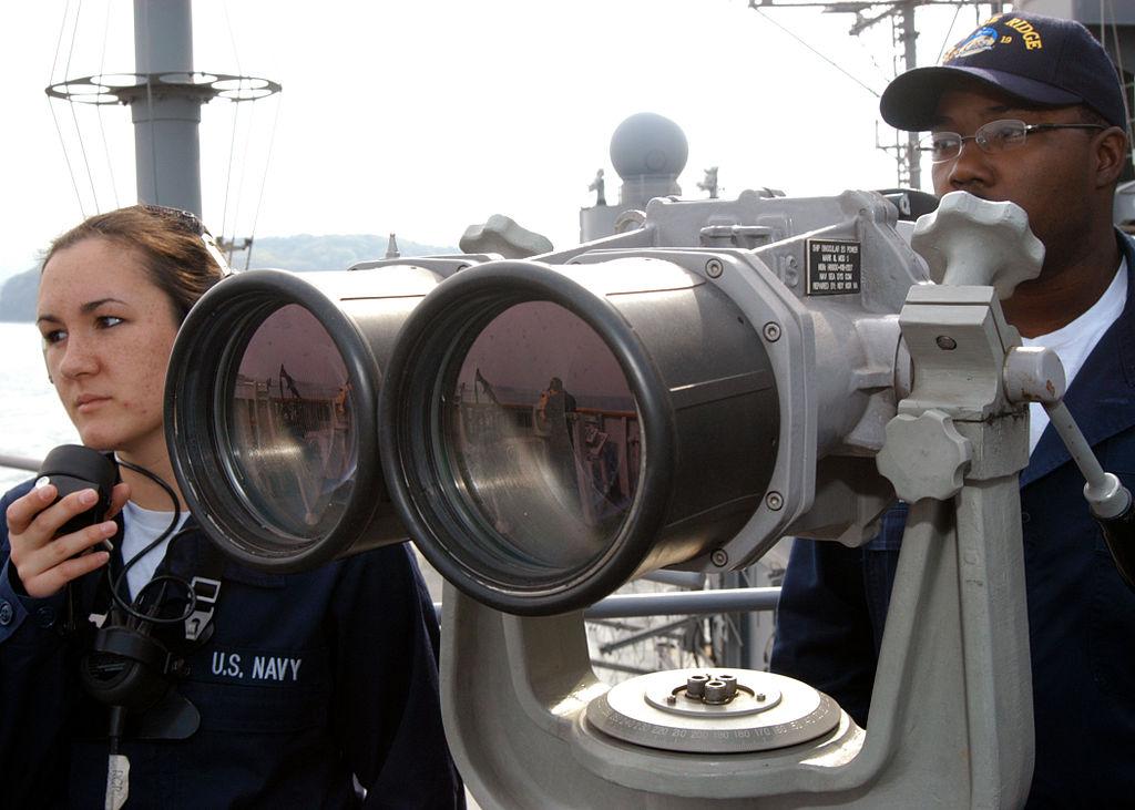 Spot look binoculars