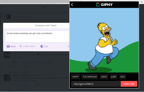 giphy chrome extension