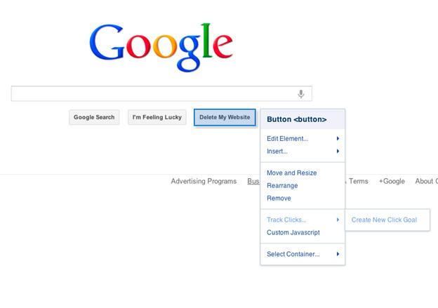 google delete site