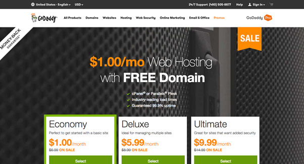 GoDaddy domain