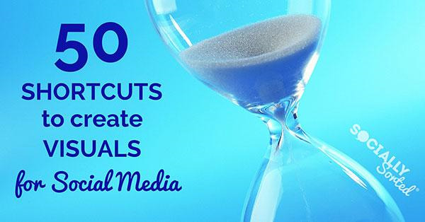50 shortcuts visual marketing