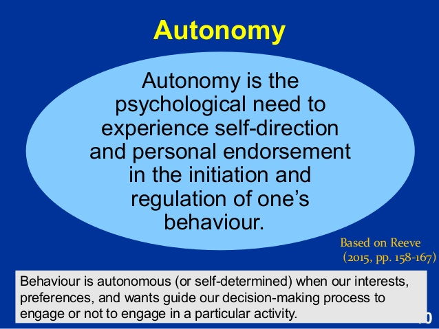 autonomy-definition