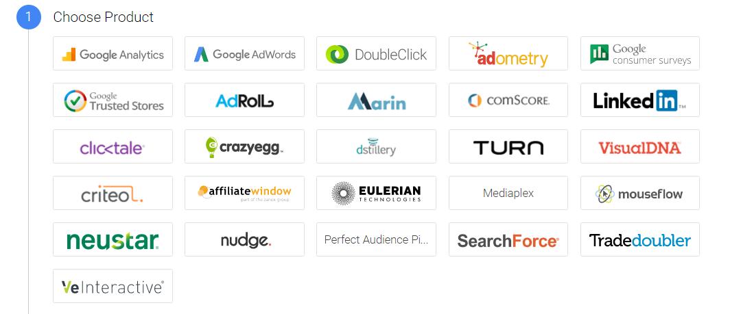GTM integrations screenshot