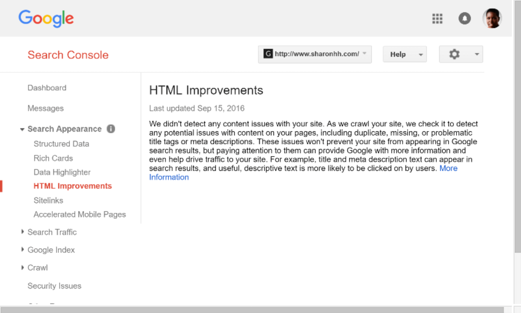 google-search-console-html-improvements