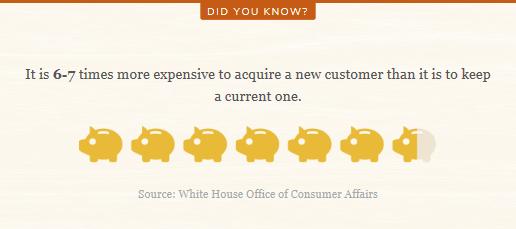 new customer vs current customer