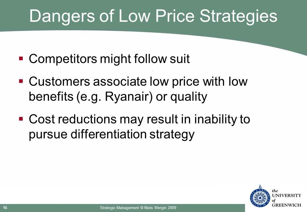dangers of low prices