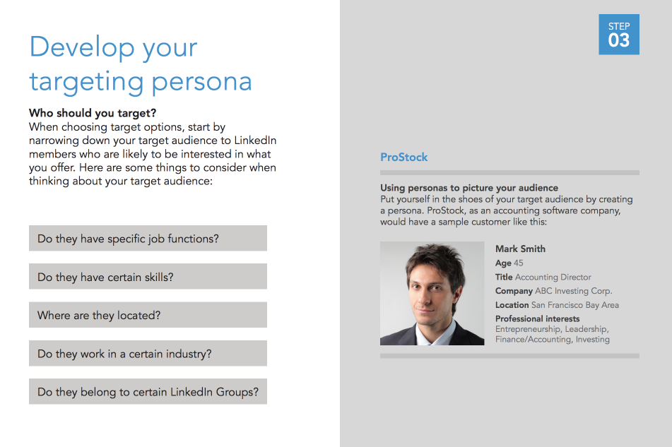 LinkedIn Buyer Persona