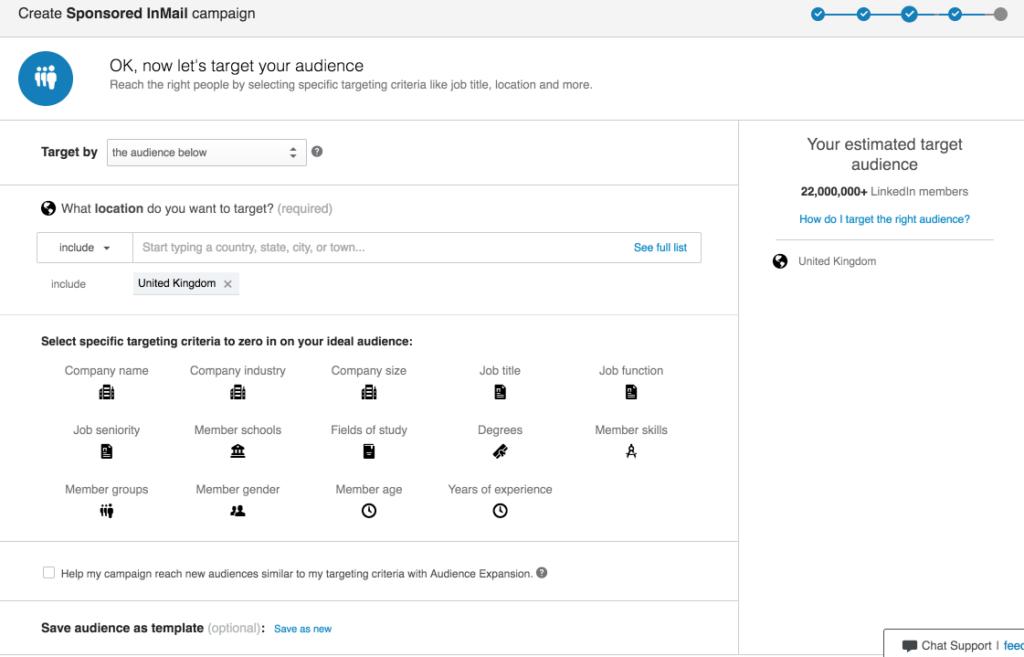 Sponsored InMail Targeting
