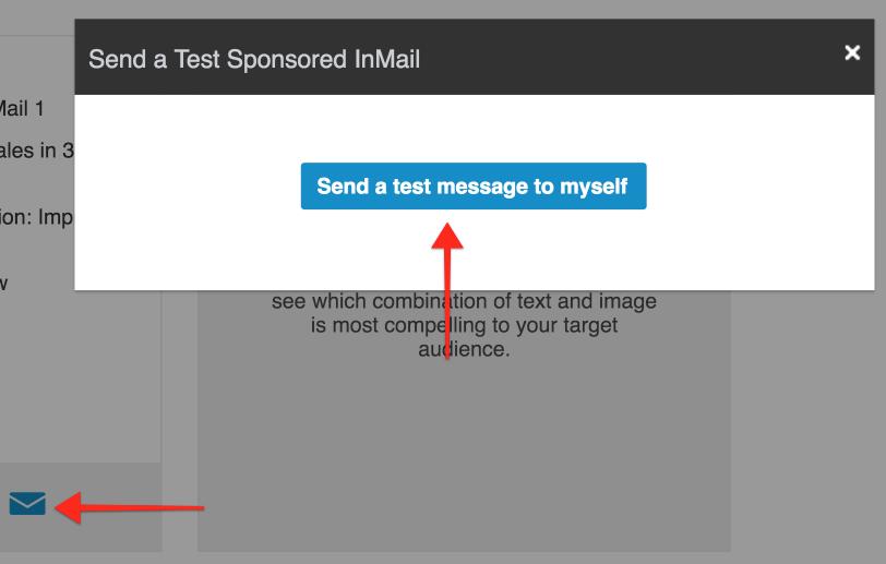 Send a Test Message