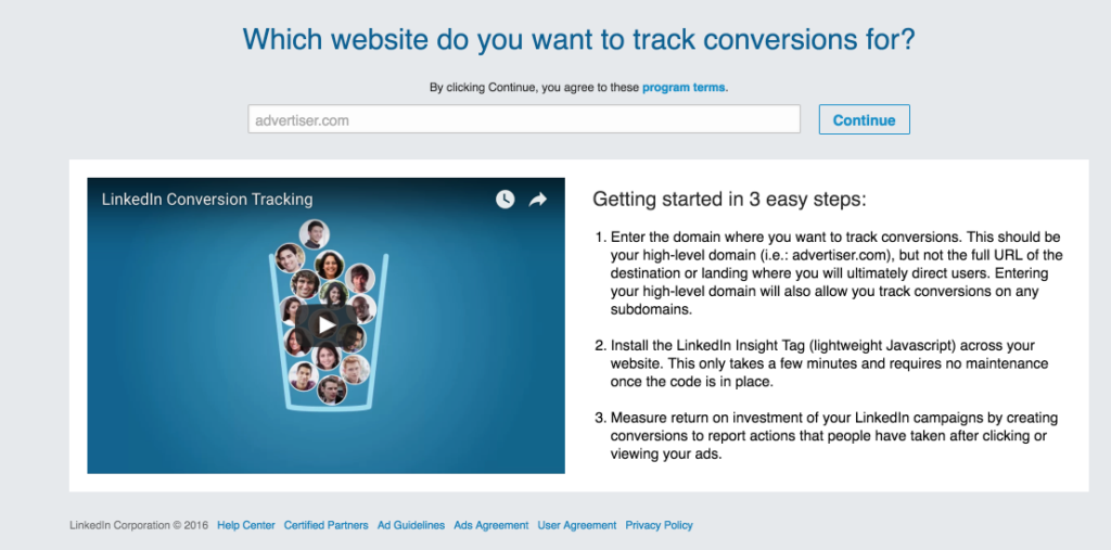 How to Setup Conversion Tracking