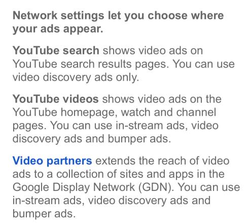 Google Network Explanation