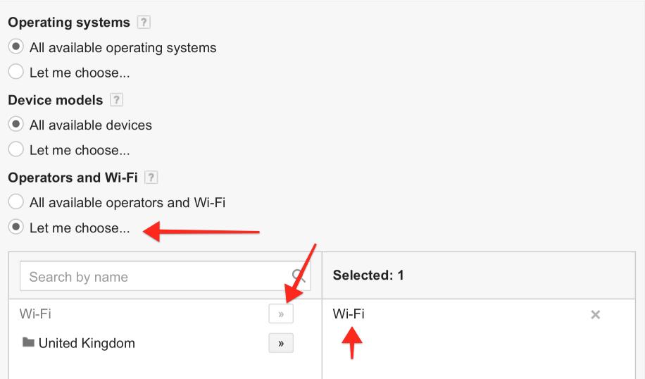 Adjust Device Settings