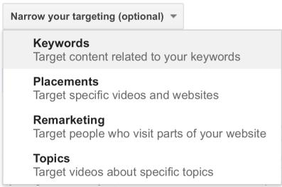 Targeting Options