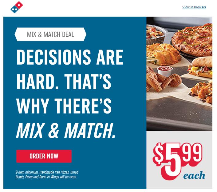 conversion-copywriting-dominos-pizza