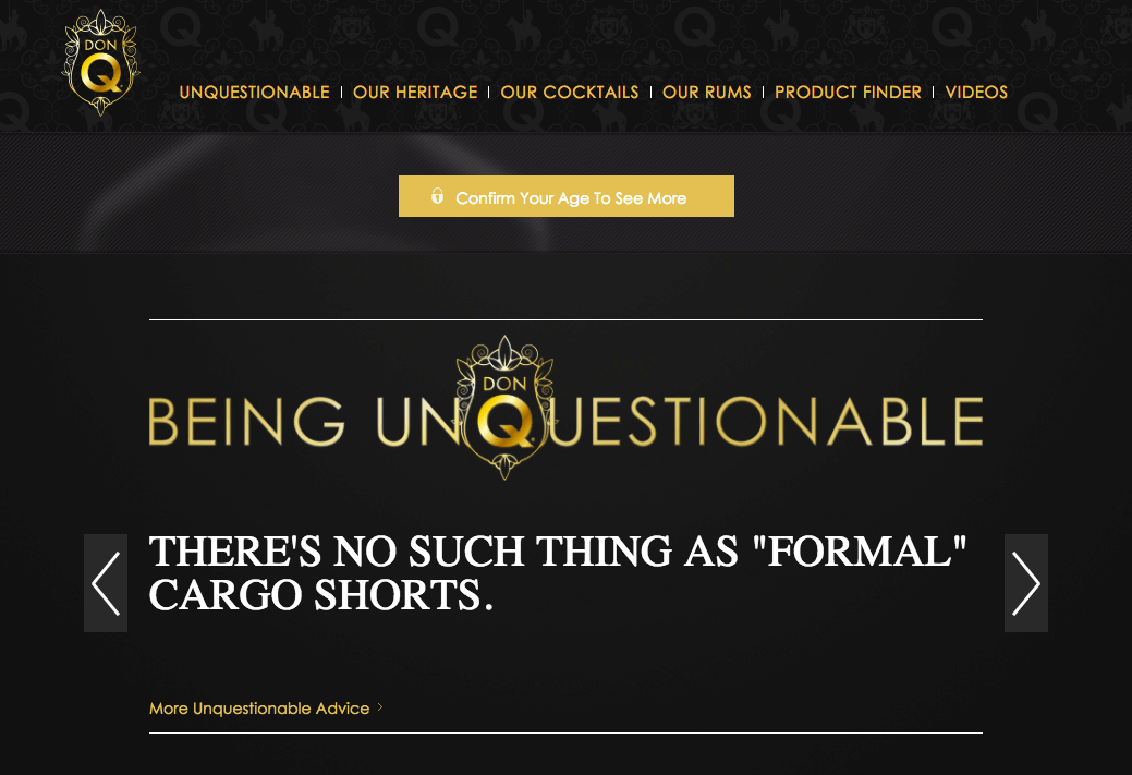 Don Q website