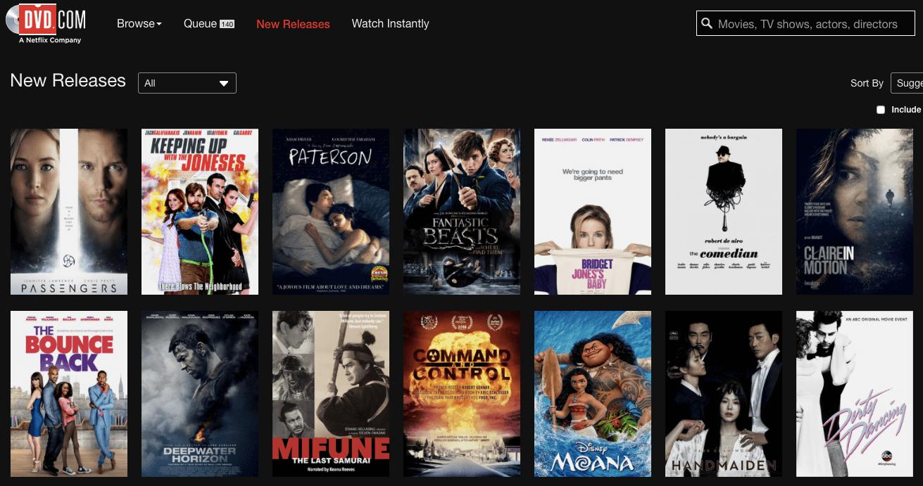 Netflix Colors
