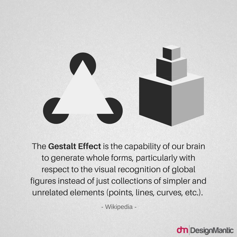 Gestalt effect