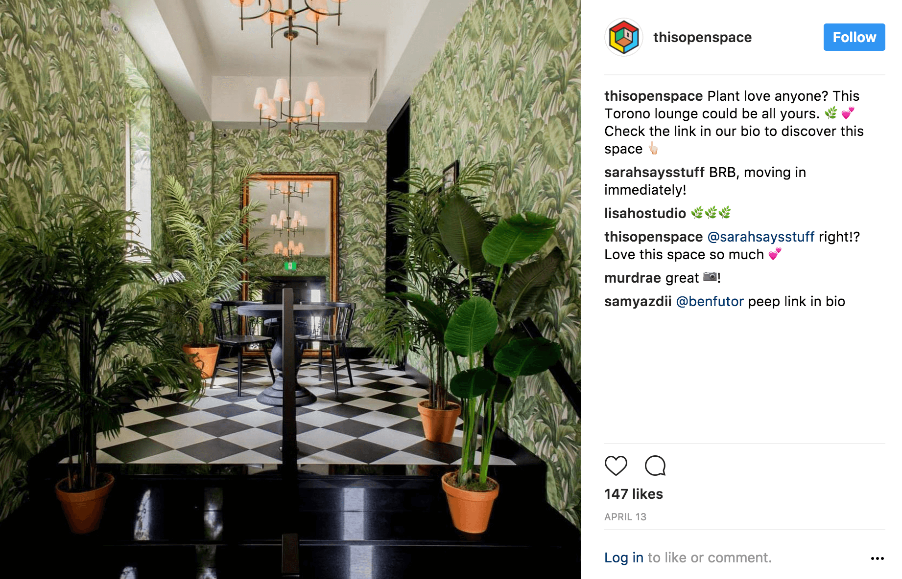 This open space instagram