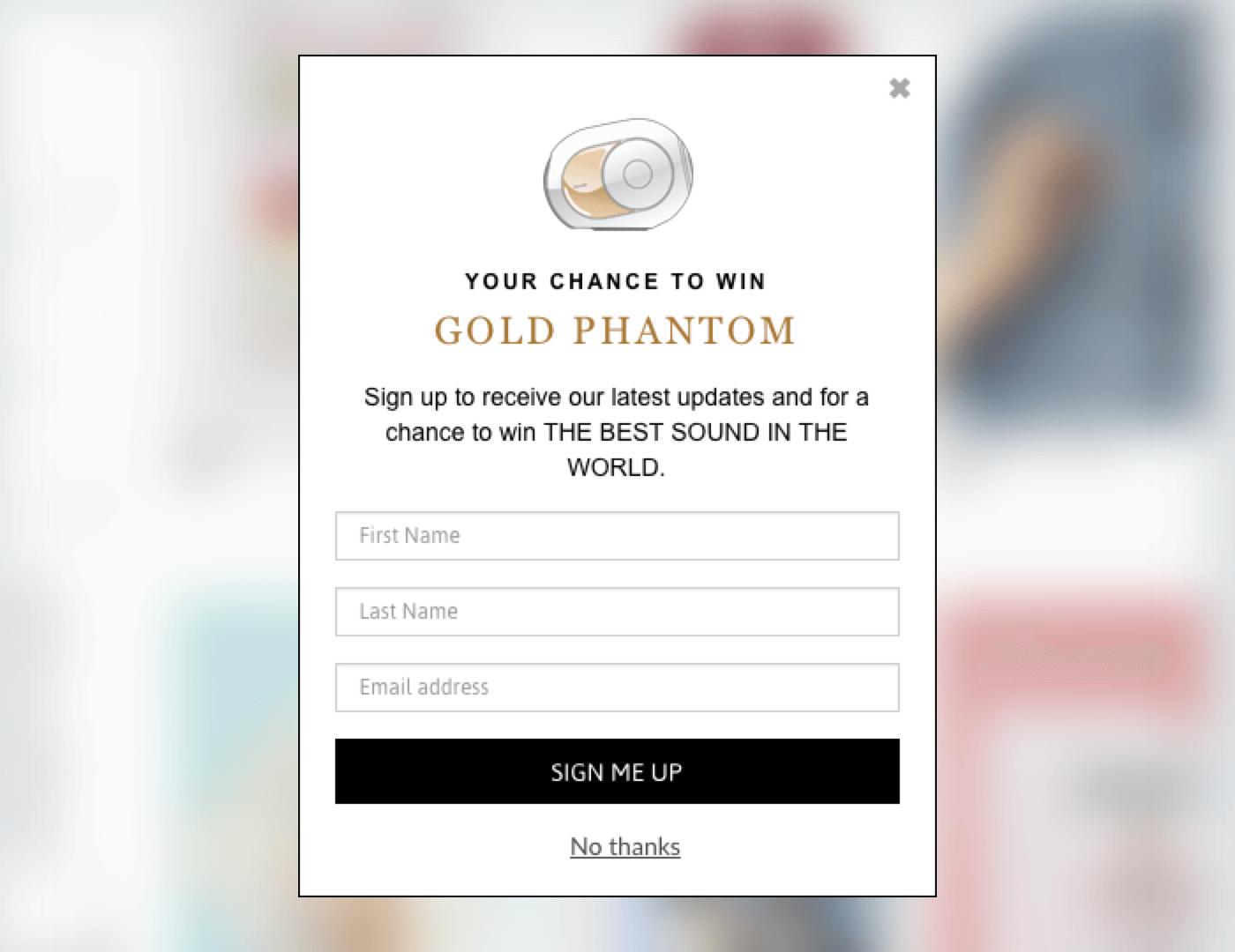 gold phantom