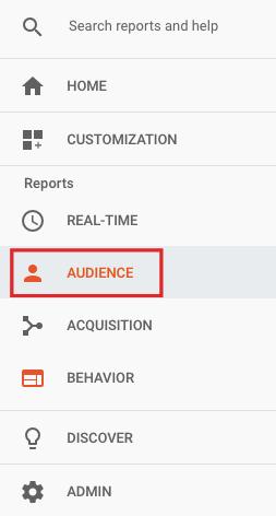 reports audience behavior
