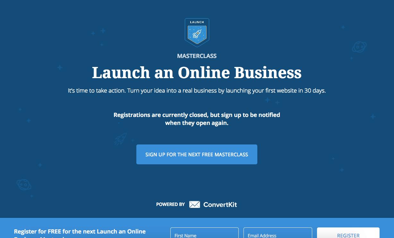 launch an online business