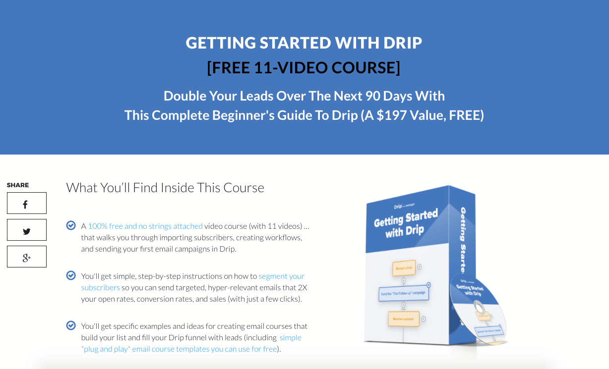 getting started with drip