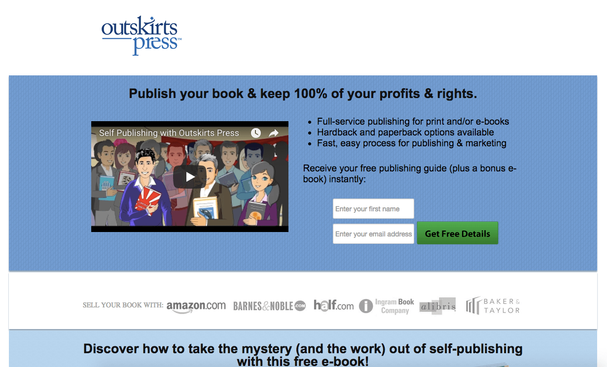 outskirts press publish your book