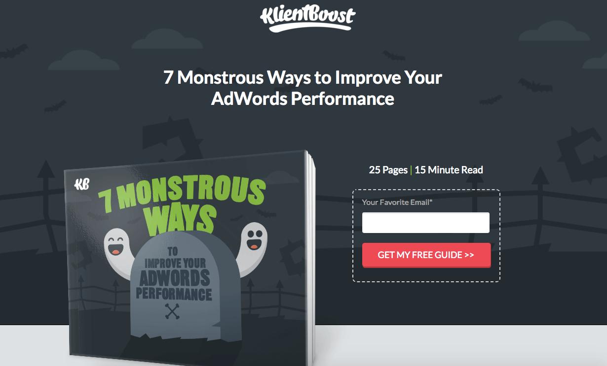 klientboost 7 monstrous ways improve adwords