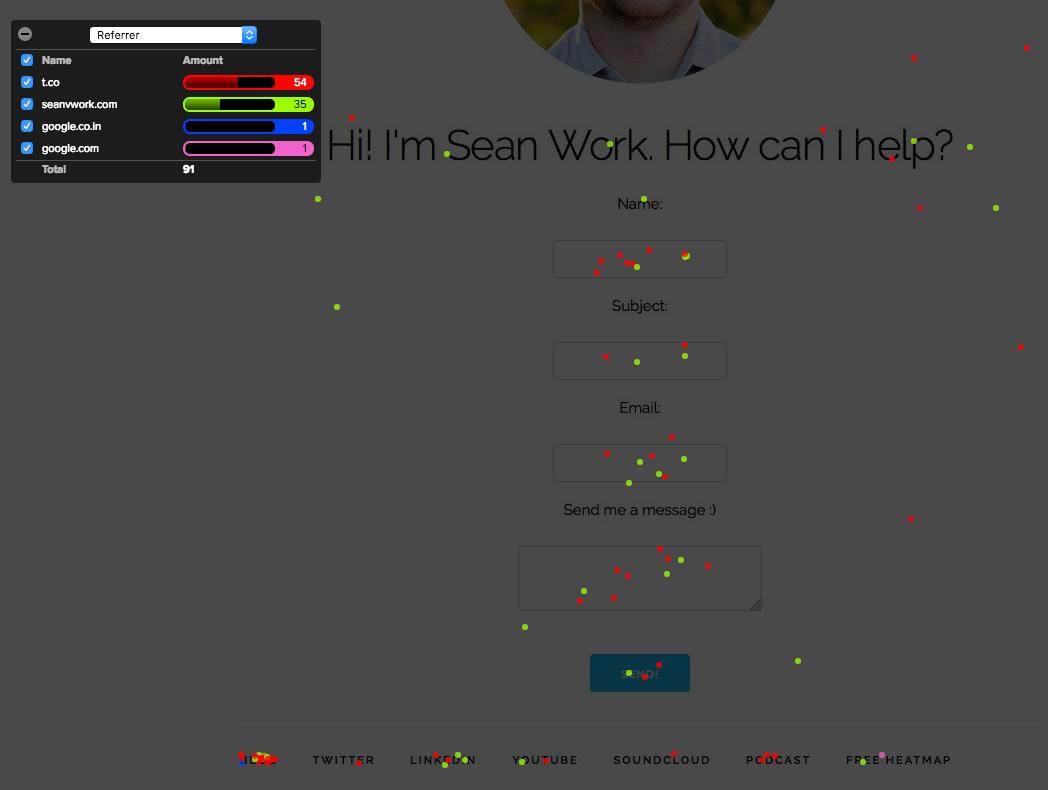 sean work homepage