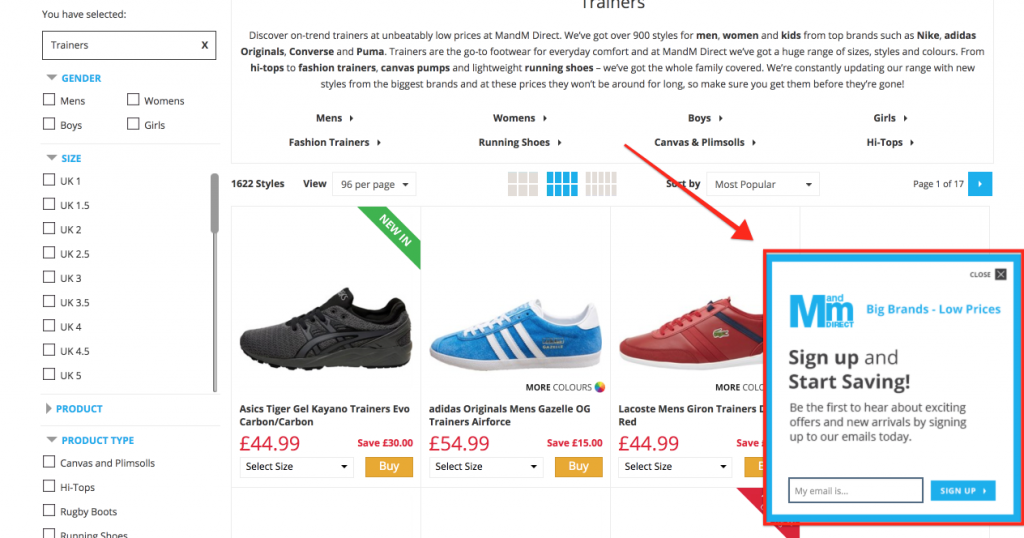 Ecommerce Opt In