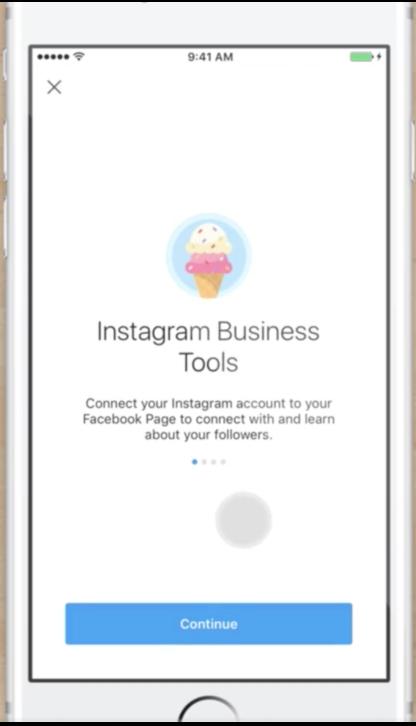 Using Instagram Business Tools