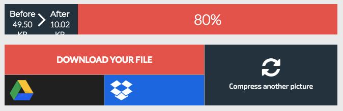 compressor io results